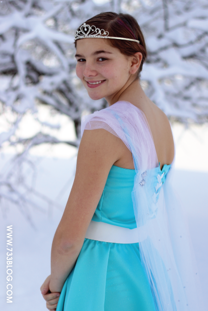 Elsa Inspired Dress Tutorial