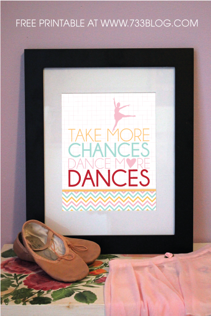 Dance Teacher Gift Idea