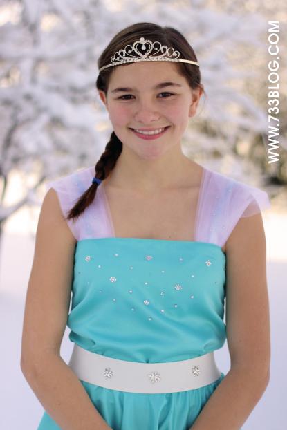 Snow Princess Dress Pattern