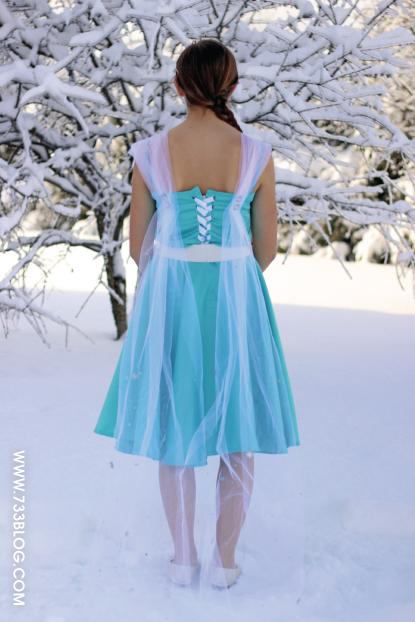 Queen Elsa Dress Pattern