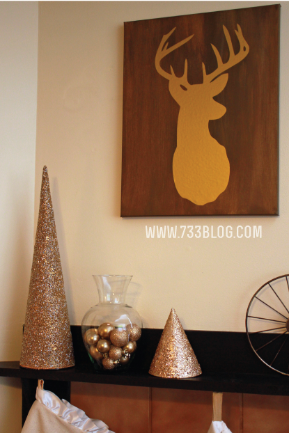 Deer Vinyl Canvas and a Silhouette Vinyl Promo