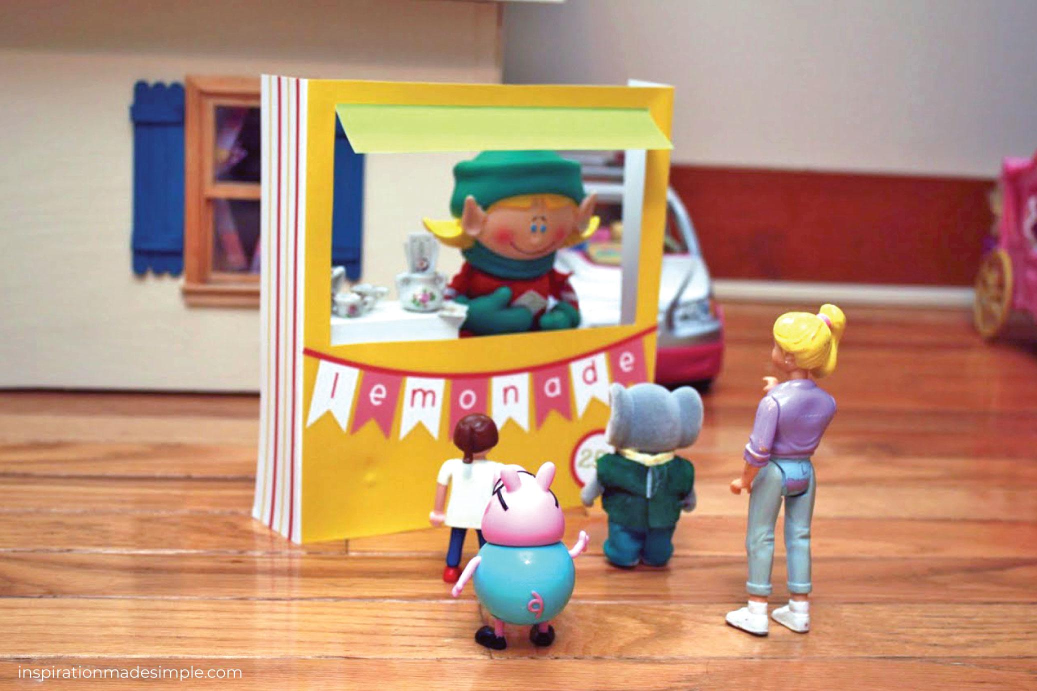 Lemonade Stand for Dolls