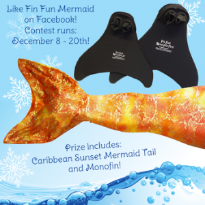 Mermaid Tail Giveaway from Fin Fun Mermaid