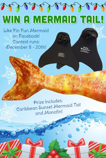 Mermaid Tail Giveaway from Fin Fun Mermaid