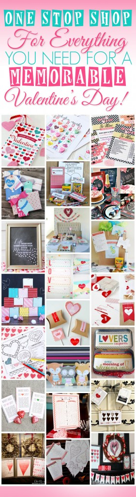 Ultimate Valentine's Day Bundly - Everything you need to pull off the best Valentine's Day EVER!