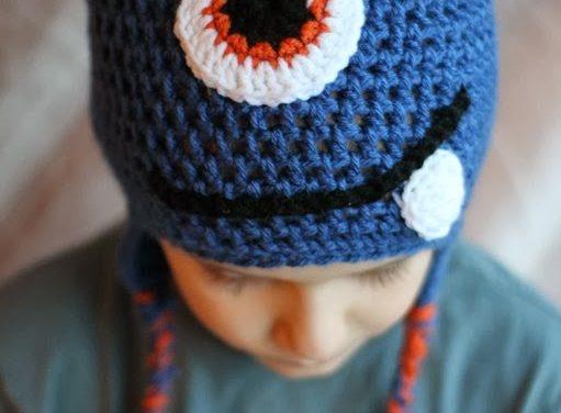 Crochet Monster Hat Pattern
