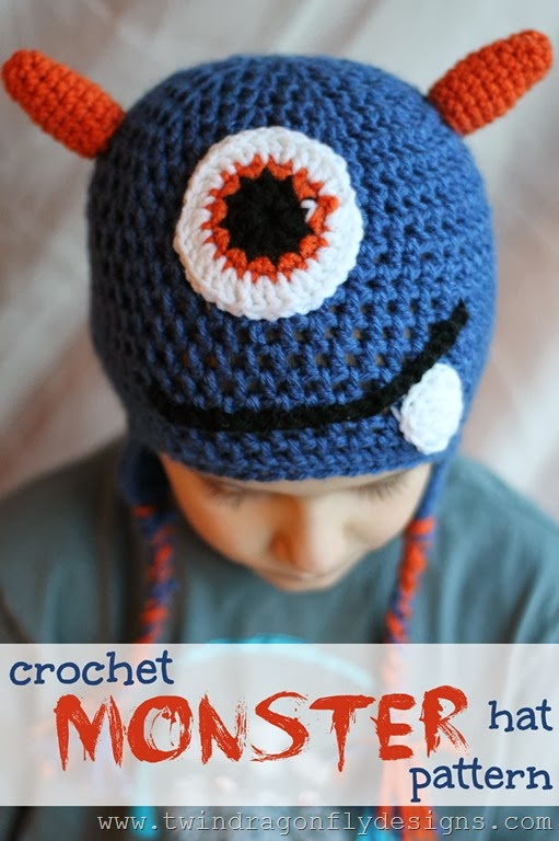 Simple Crochet Hat Pattern