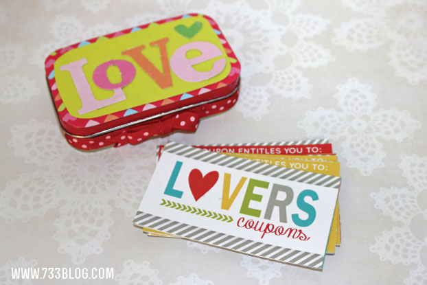 Printable Adult Coupons - Perfect Valentine's Gift for your Significant Other!