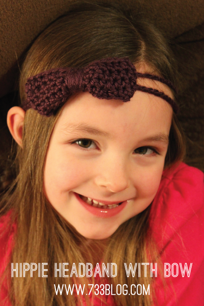 Crochet Hippie Headband Tutorial