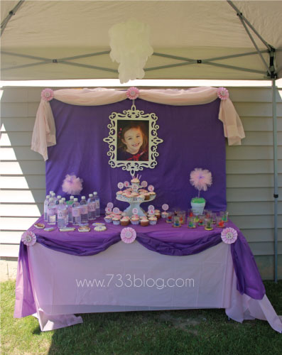 Sofia the First Birthday Party Inspiration Made Simple