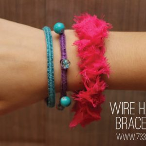 Easy DIY Wrapped Bracelets
