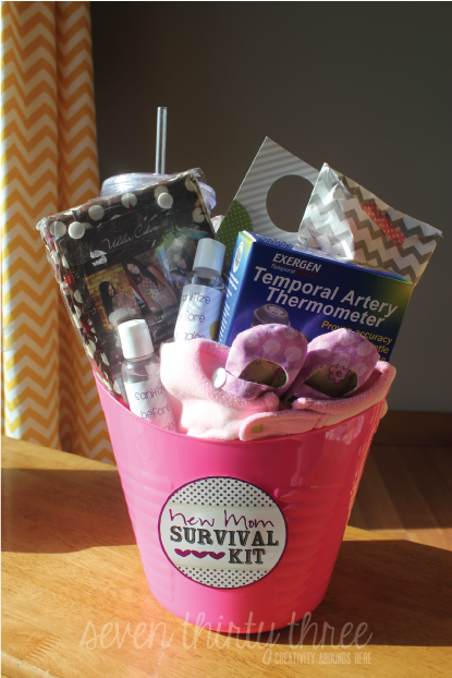 A New Mom Survival Kit Inspiration Made Simple