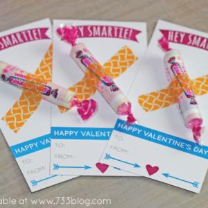 Hey Smartie! Printable Valentine