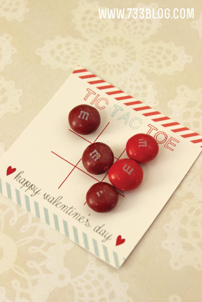 Free Printable Tic Tac Toe Valentine's Day Card