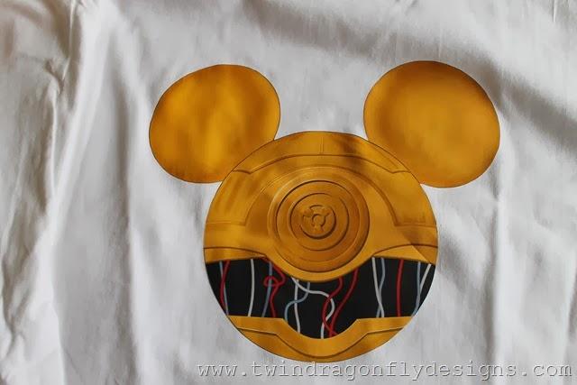 C3PO Mickey Shirt