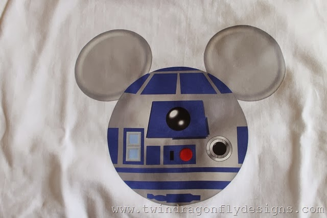 R2D2 Mickey Mouse Shirt