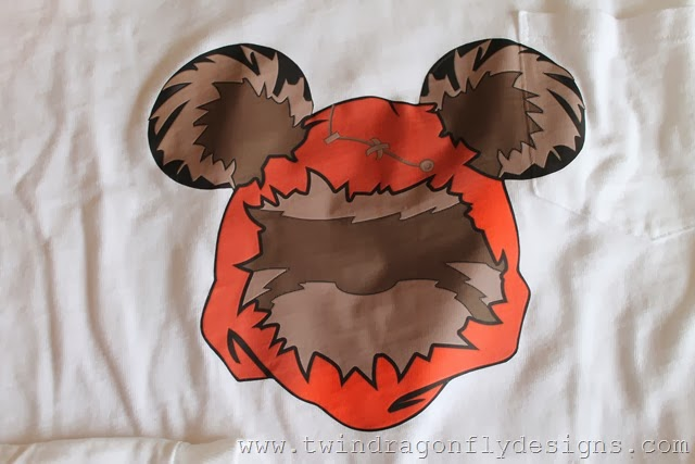 EWOK Mickey Shirt