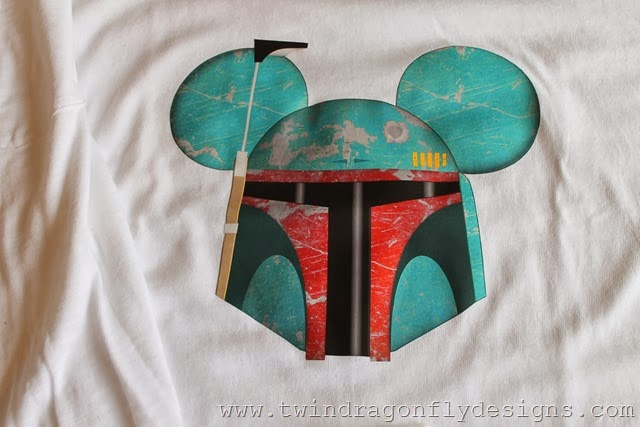 Boba Fett Mickey Shirt