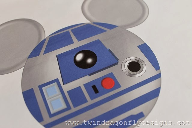 R2D2 Mickey Star Wars Shirt