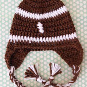 Football Hat #ProjectCrochet Update