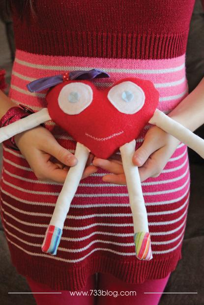 A Valentine Plushie
