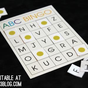 preschool-bingo