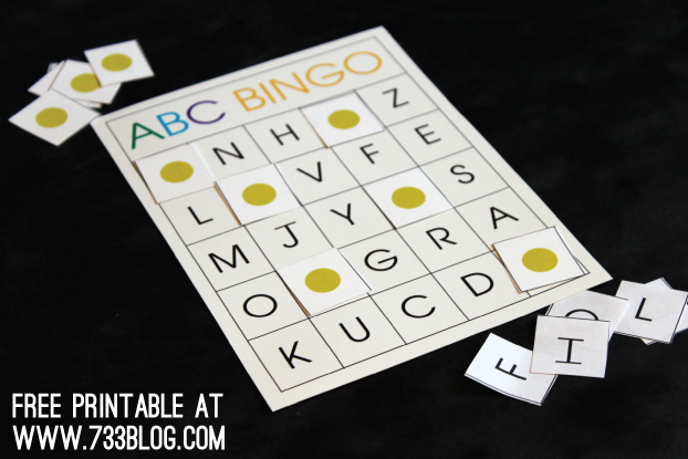 ABC BINGO – Learning Game