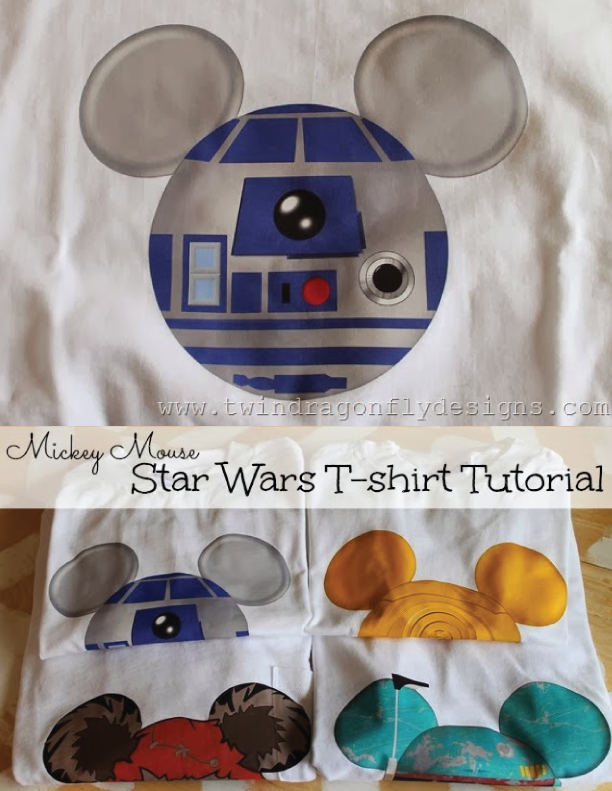 Star Wars Mickey Mouse T-shirt Tutorial