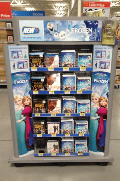 FROZEN Store Display