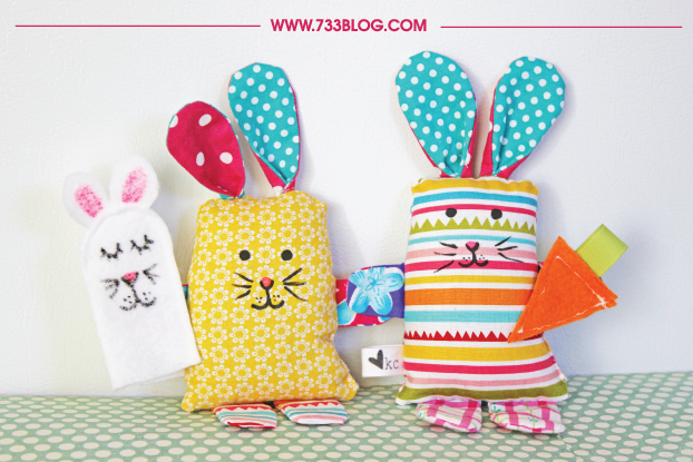 Easy Scrap Fabric Bunny