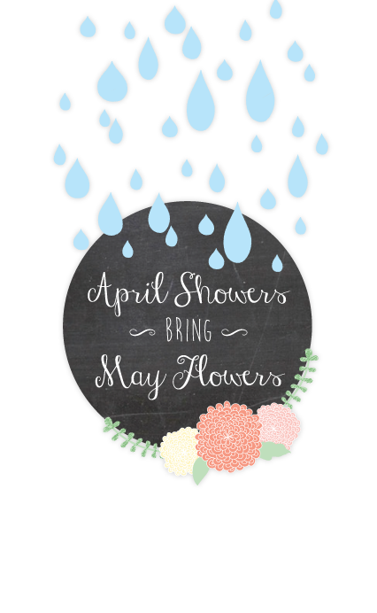 April Showers Bring May Flowers Printables Inspiration Made Simple