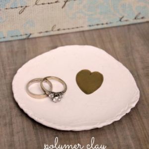 Polyform Clay Ring Dish