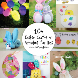 10+ Fun Easter Crafts & Activities for Kids