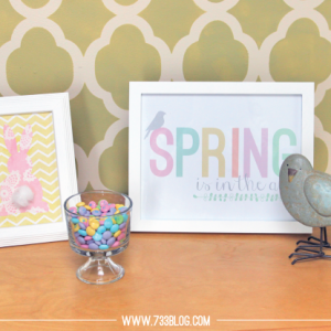 Spring is Here Printable Artwork