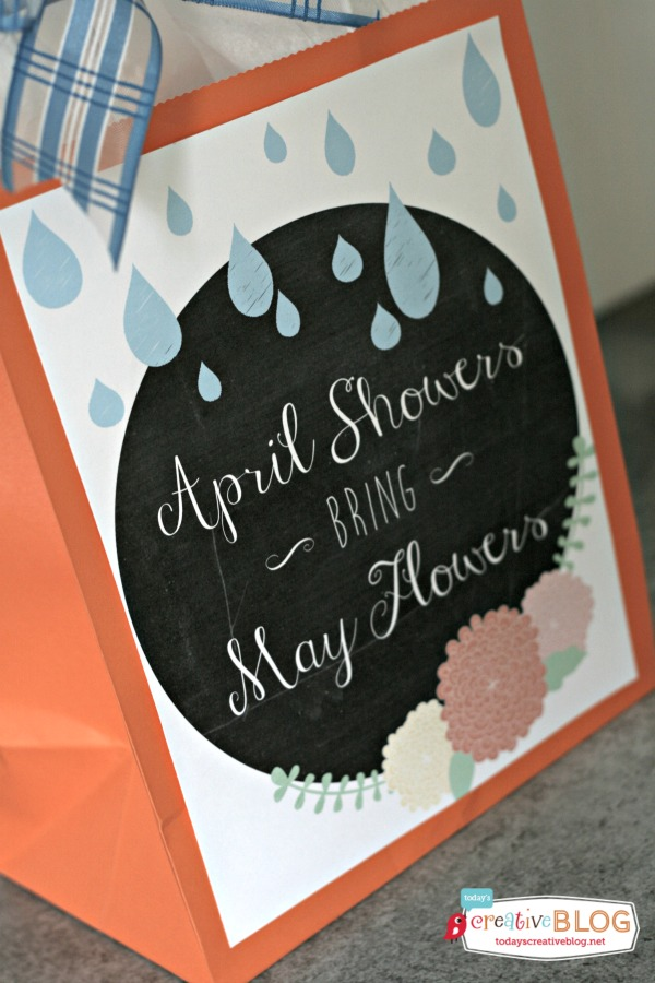 April Showers Bring May Flowers Printables