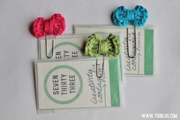 Tiny Crochet Bow Bookmarks Inspiration Made Simple