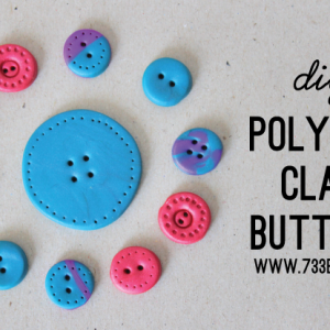 Premo! Clay Button Tutorial