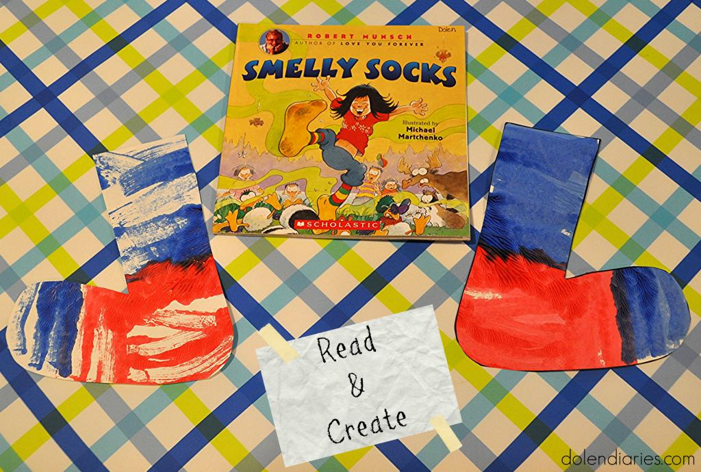 Robert Munsch's Smelly Socks Book Activity