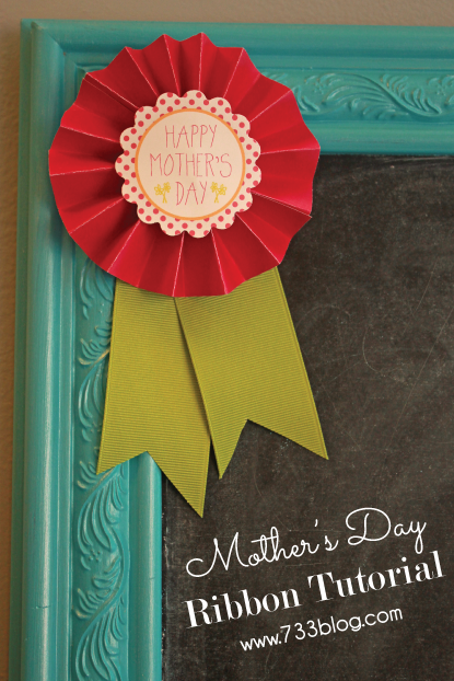 Mother's Day Ribbon Tutorial