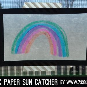 wax-paper-sun-catcher