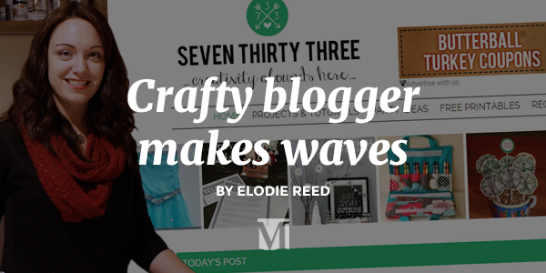 Crafty Blogger, Kim Conner, Makes Waves