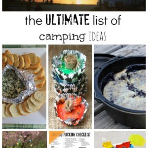 Camping Packing Checklist – Free Printable