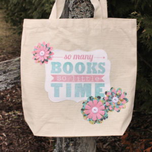 So Many Books So Little Time – Library Tote Bag