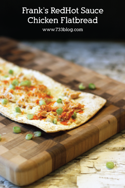 Buffalo or BBQ Chicken Flatbread
