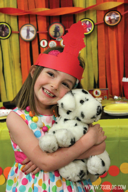Fire Hydrant and Dalmatian Themed Birthday Party