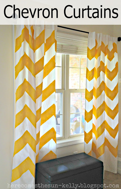 Chevron Curtain Tutorial