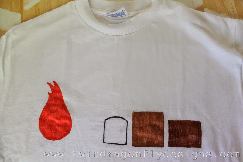 DIY Shirt Kids Craft Idea