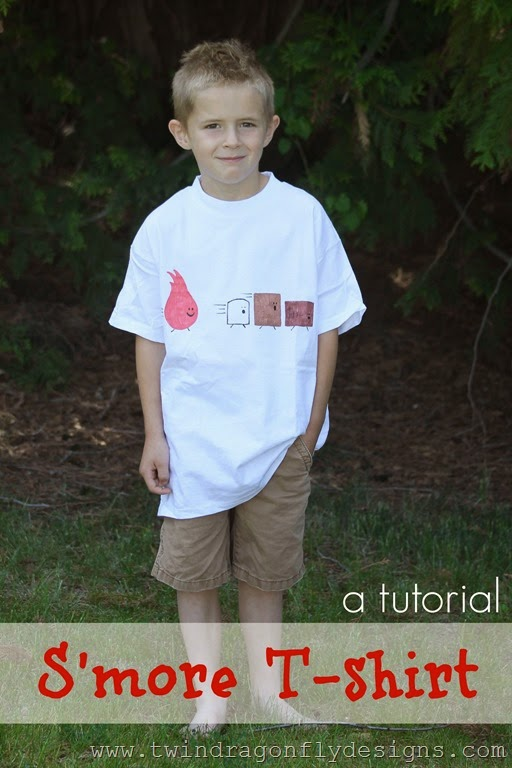 DIY S'more T-Shirt