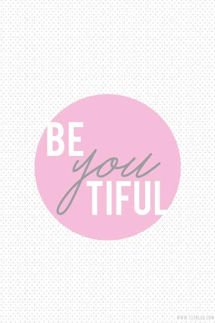 BeYOUtiful iPhone Wallpaper