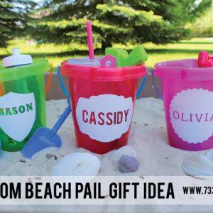 Custom Beach Pail